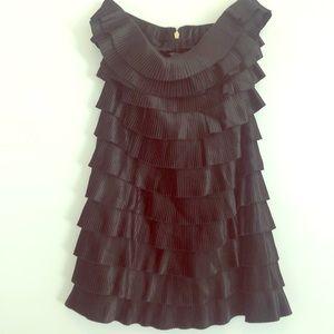 Express black strapless  cocktail dress